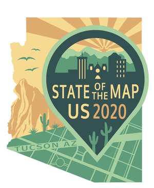 State of the Map 2020 Logo